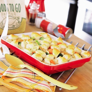 Country Chicken Cobbler