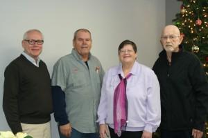 (L-R) Gary Reynolds, Sam Napier, Diane Schueller and Dave Rhodes