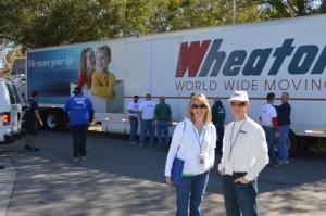 Jerrod & Volunteer_Wheaton Truck