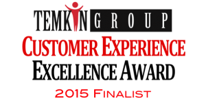 2015 Customer Experience Excellence Award