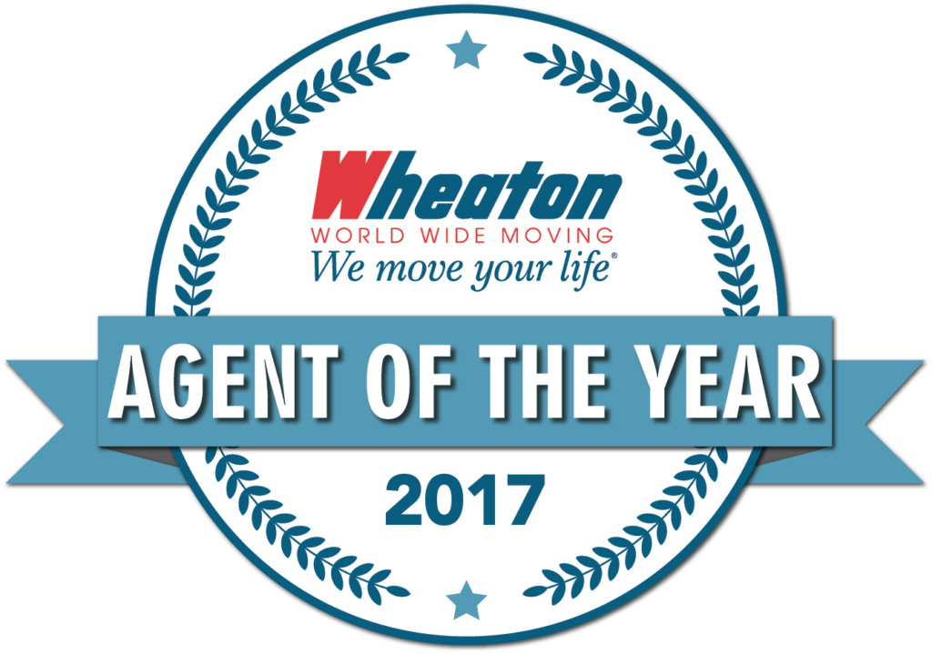 wheaton agent of the year 2017