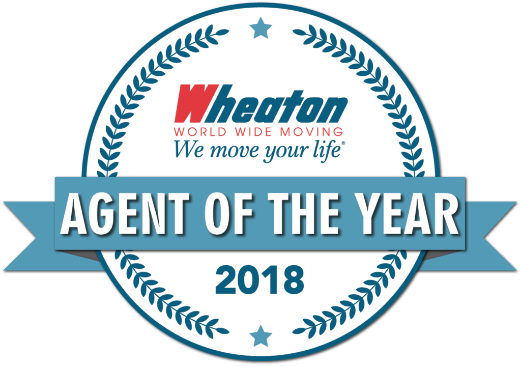 wheaton agent of the year 2018