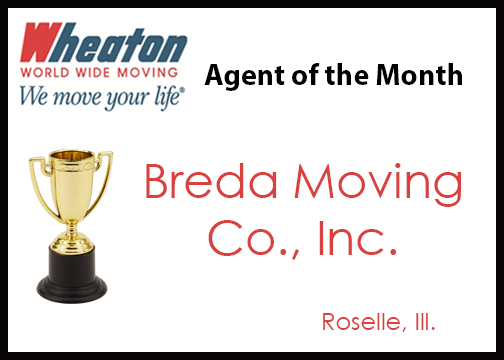 July 2016 - Breda Moving Co., Inc.
