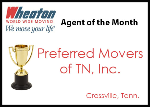August 2016 - Preferred Movers of TN