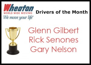 September Drivers of the Month - 2016