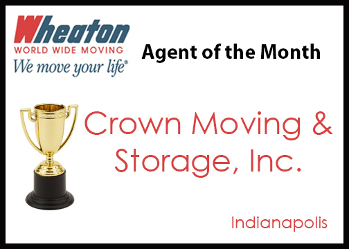 Crown Moving & Storage - Agent of the Month