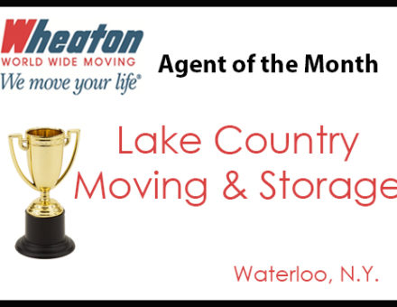 Lake Country Moving & Storage - Agent of the Month