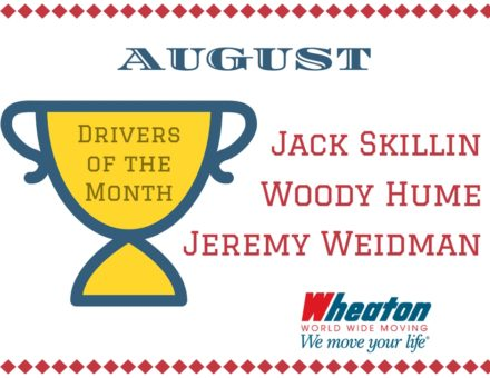 Driver of the Month Wheaton