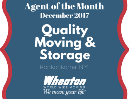 wheaton agent of the month