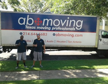 AB Moving crew with truck