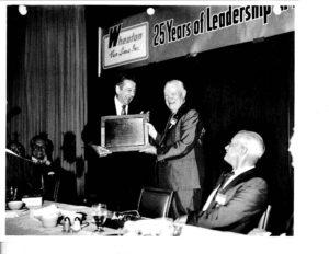 Earnest S. Wheaton leadership award