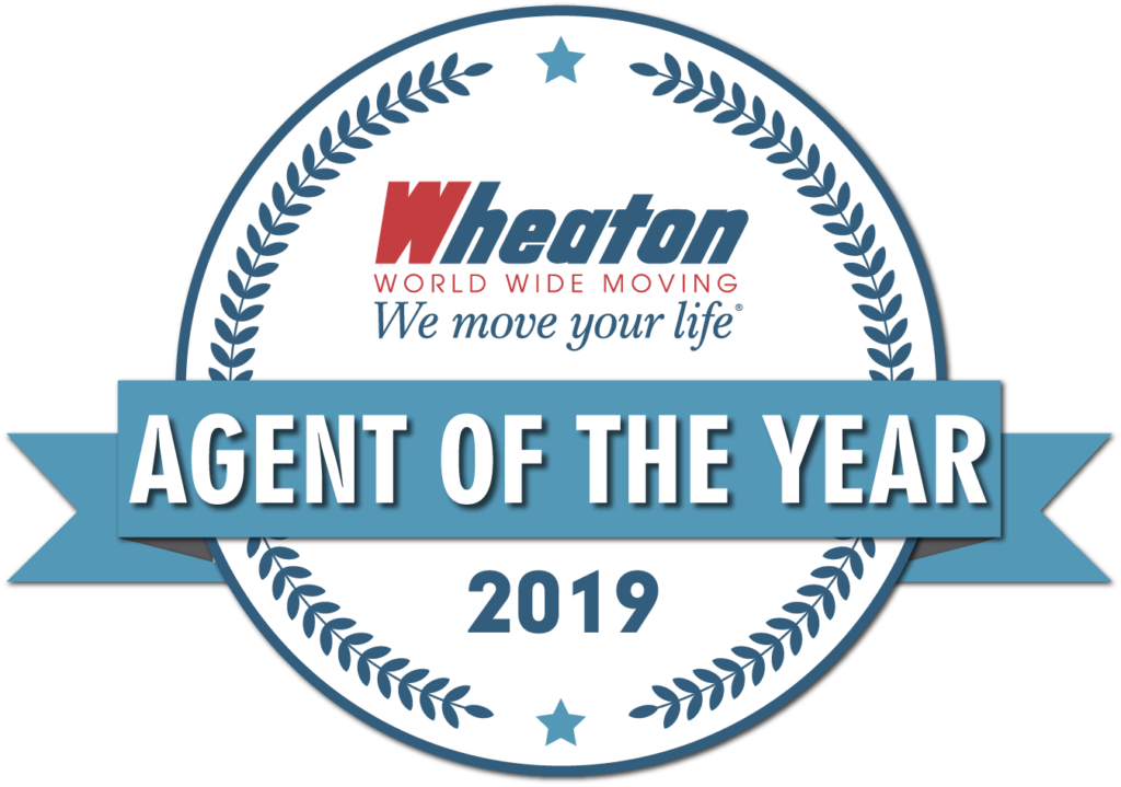 wheaton agent of the year 2019